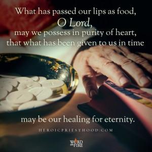 Heroic Priesthood- Healing for Eternity