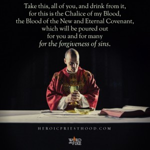Heroic Priesthood – Forgiveness of Sins