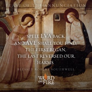 Annunciation – Eva and Ave