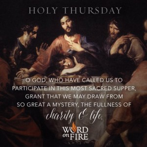Holy Thursday