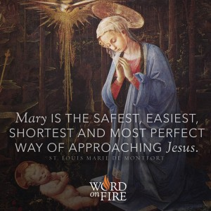 St. Louis de Montfort – Mary