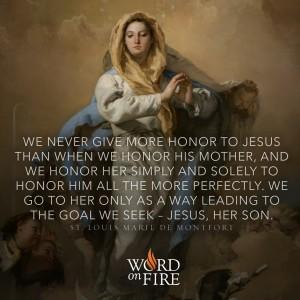 Mary – St. Louis de Montfort