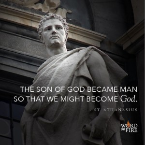 St. Athanasius – Marvelous Exchange