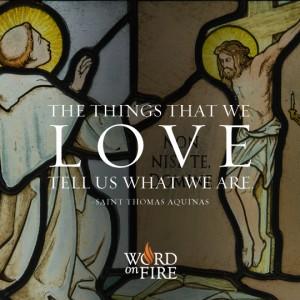 St. Thomas Aquinas – The Things We Love