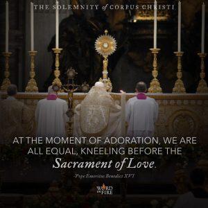 Corpus Christi – Sacrament of Love
