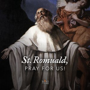 St. Romuald, pray for us!