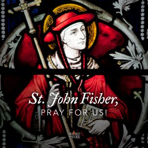 St. John Fisher, pray for us!