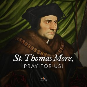 St. Thomas More, pray for us!