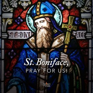 St. Boniface, pray for us!