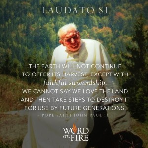 Laudato Si – Faithful Stewardship