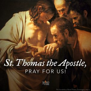 St. Thomas the Apostle, pray for us!