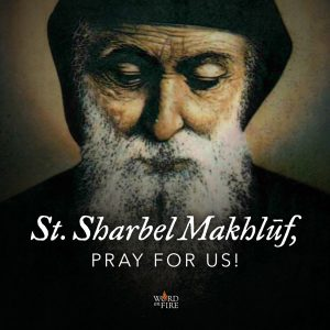 St. Sharbel Makhlūf, pray for us!