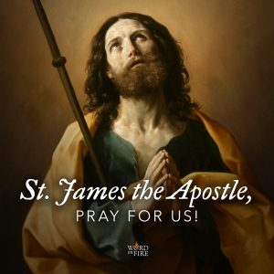 St. James the Apostle, pray for us!