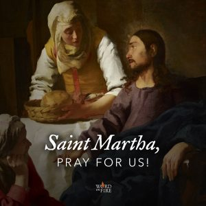St. Martha, pray for us!