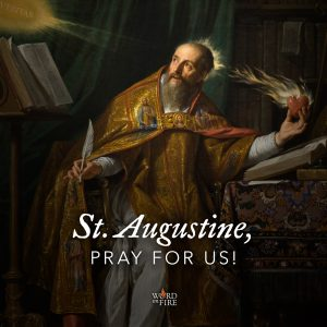 St. Augustine, pray for us!