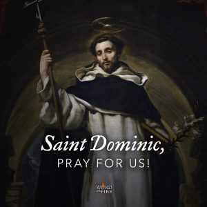 St. Dominic, pray for us!