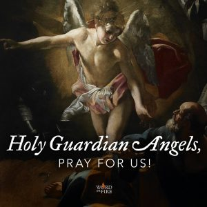 Holy Guardian Angels, pray for us!