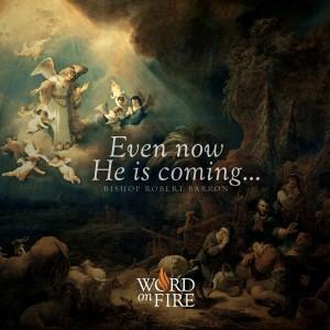 """Even now He is coming…"" -Bishop Barron"