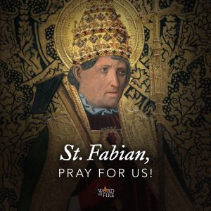 St. Fabian, pray for us!
