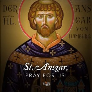 St. Ansgar, pray for us!