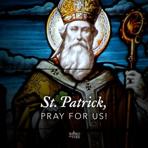 Saint Patrick, pray for us!