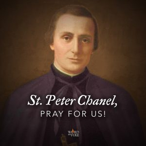 St. Peter Chanel, pray for us!