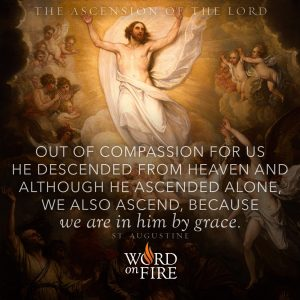 The Ascension of the Lord – In Him by Grace