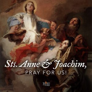 Sts. Anne & Joachim, pray for us!