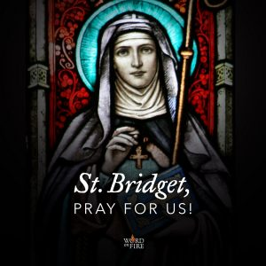St. Bridget, pray for us!