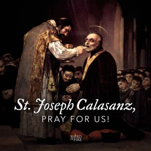 St. Joseph Calasanz, pray for us!