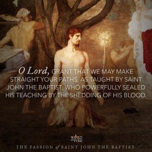 The Passion of Saint John the Baptist