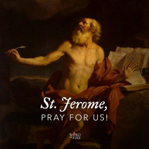 St. Jerome, pray for us!