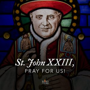 St. John XXIII, pray for us!