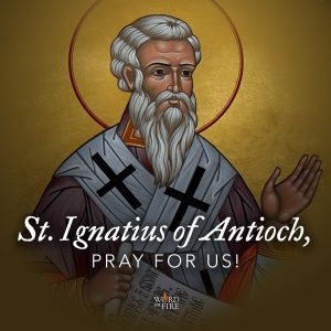 St. Ignatius of Antioch, pray for us!