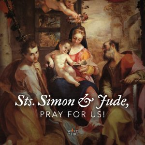 Sts. Simon & Jude, pray for us!