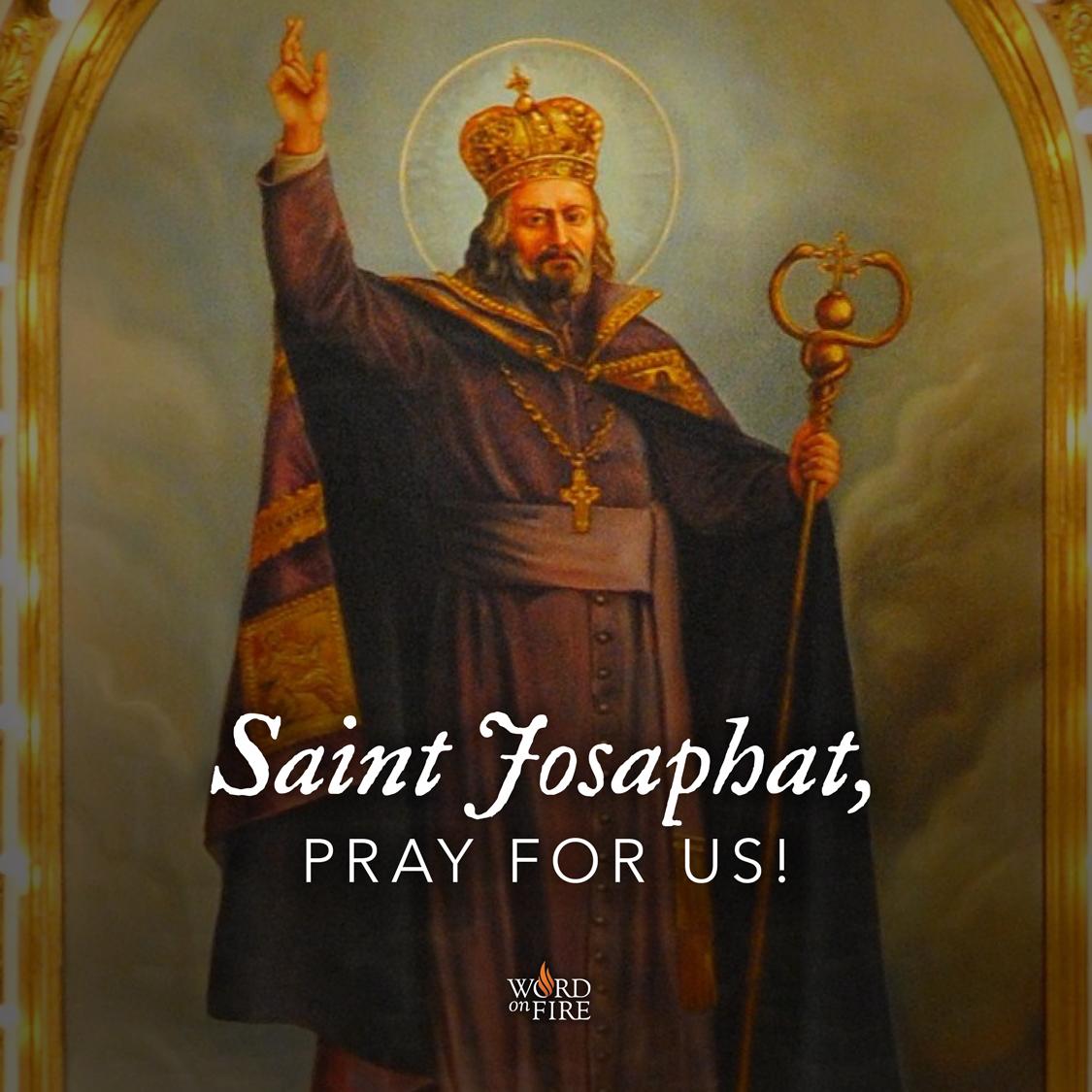 Prayergraphics Com 187 St Josaphat Pray For Us
