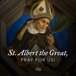 St. Albert the Great, pray for us!