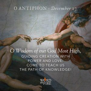 O Antiphon – Day 1