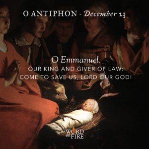 O Antiphon – Day 7