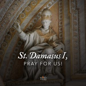 St. Damasus I, pray for us!