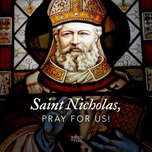 St. Nicholas, pray for us!