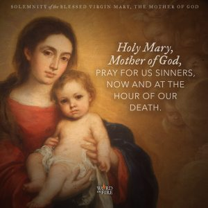 Solemnity of the Blessed Virgin Mary, Mother of God