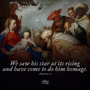 "The Epiphany of the Lord – ""We saw his star at it's rising…"""