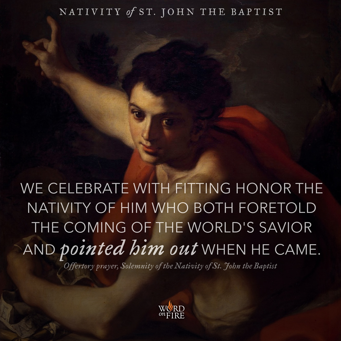 Bible Quotes About St John The Baptist: Readings & Reflections: Solemnity Of The Nativity Of Saint