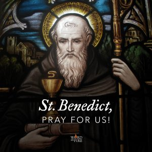 St. Benedict, pray for us!