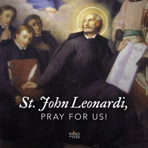 St. John Leonardi, pray for us!