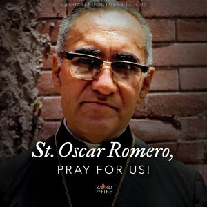 St. Oscar Romero, pray for us!